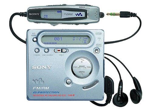 Sony MZ-G755 - Reproductor portátil MiniDisc (con función grabadora)