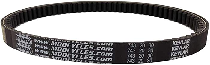 MMG V-Belt CVT Drive Belt Kevlar Reinforced 743 20 30, Compatible with GY6 125cc 150cc Motorcycle Scooter ATV