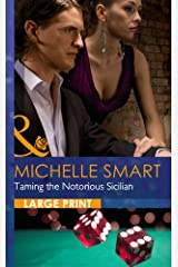 Taming the Notorious Sicilian (Largeprint Romance) ハードカバー