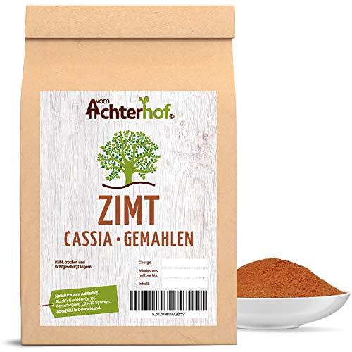 Zimt gemahlen cassia (1kg) Premium Zimtpulver vom-Achterhof Gewürze