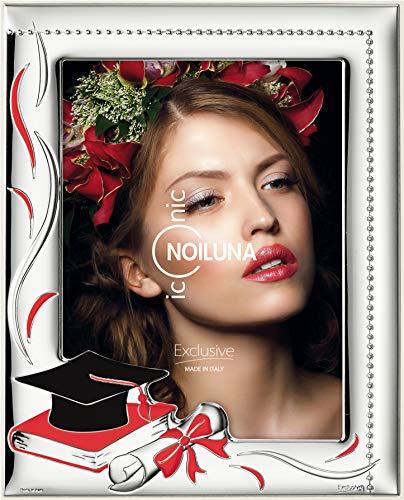 Noiluna Iconic Cornice Portafoto La mia Laurea 13x18 in Argento PVD
