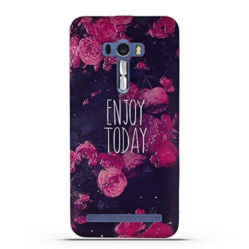 FUBAODA für Asus ZenFone Selfie ZD551KL Hülle, 3D Erleichterung Gute Qualität Muster TPU Case Schutzhülle Silikon Case für Asus ZenFone Selfie ZD551KL