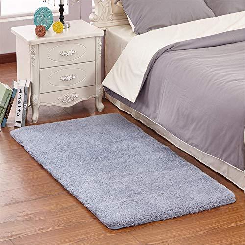 Slijtvaste Drawing Roomes Tapijt Puur grijs pluizig ontwerp zacht en duurzaam slaapkamer nachtkleed niet-vervagen pluizige tapijten