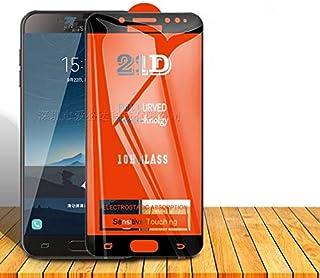 واقيات شاشة الهاتف - واقي شاشة 21D للهاتف الخلوي من الزجاج المقوى بالكامل لهاتف Galaxy C8 C9pro M10S J3(2017) J4core J4(20...