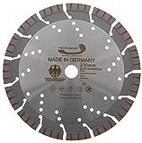 PRODIAMANT Disco diamantato premium Calcestruzzo Granito Oxx 230 mm x 22,2 mm Disco diamantato PDX82.118 230 mm per pietra naturale, prodotti in calcestruzzo, materiali duri e semiduri, adatto a smerigliatrice angolare