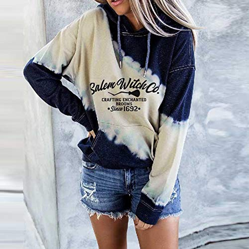 Eihan Women's Once Upon A Time There was A Girl Who Really Loved Dogs and Tattoos - Sudadera con capucha