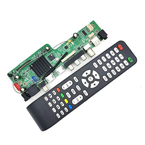 MS368V3.0 Quad Core Web Televisión placa base con control remoto LCD Driver Board soporte WiFi RJ45 USB2.0 HDMI AV DTMB analógico Televisión amd threadripper 3990x placa base z490 mini itx