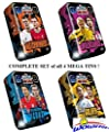 2020/21 Topps Match Attax Champions League Soccer Complete Set of 4 MEGA TINS with 240 Cards! Look for Ronaldo, Messi, Haaland, Neymar & More! WOWZZER!