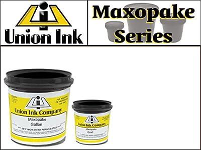 Union Maxopake - Plastisol Screen Printing Ink - Low-Bleed EZ Print White