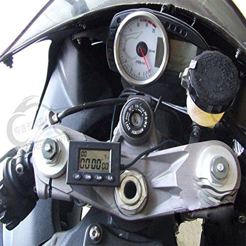 DOREKIN Negro Mejor Lap Lap Timer Pista de Carreras Día Timing Infrarrojos Motorsport Kart