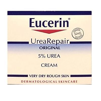 3 x Eucerin® Dry Skin Replenishing Cream 5% Urea with Lactate & Carnitine 75ml
