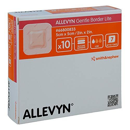ALLEVYN Gentle Border Lite 5x5 cm Schaumverb. 10 St