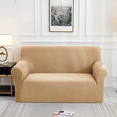 Funda de sofá Jacquard para Sala de Estar, Funda de sofá elástica elástica, Funda seccional para sofá, Protector de Muebles A9, 3 plazas