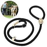 UEETEK 犬用リード 犬 散歩 リード 犬首輪リード 訓練リード 調節でき ナイロン 小型犬 中型犬