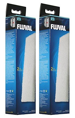 Fluval A488 Schaumstoffpatrone für Filter U4, 2 x 2 Stück