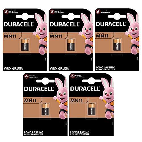Duracell Alkali Batterie (MN11, 6V) (5 Stück)