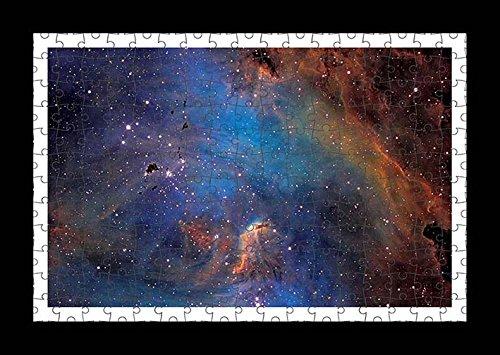 Puzzle stile (preconfigurati) Stampante muro di galassie nebulae stars universe by Lisa Loft