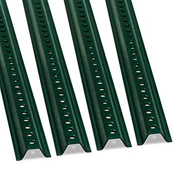 SmartSign U-Channel Sign Post Medium Weight  6  Tall Baked Enamel Steel Post - Pack of 4