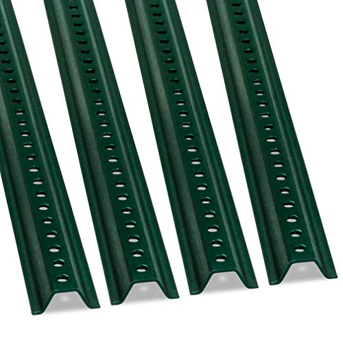 SmartSign U-Channel Sign Post, Medium Weight| 6' Tall Baked Enamel Steel Post - Pack of 4