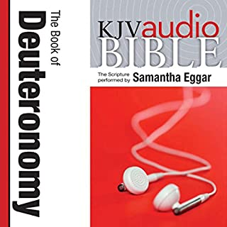 King James Version Audio Bible: The Book of Deuteronomy cover art