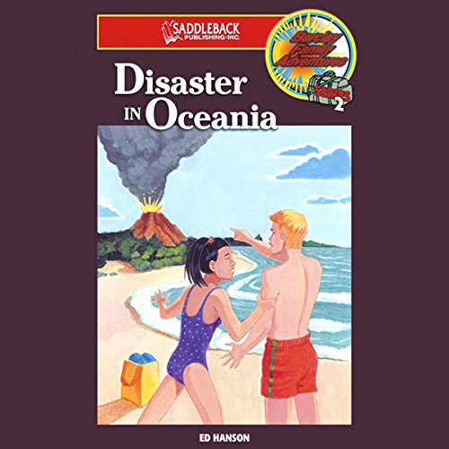 Disaster in Oceania audiobook cover art