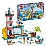 LEGO-Friends Le centre de sauvetage du phare Jouet pour Fille et Garçon à Partir de 6 Ans et Plus, 602 Pièces 41380