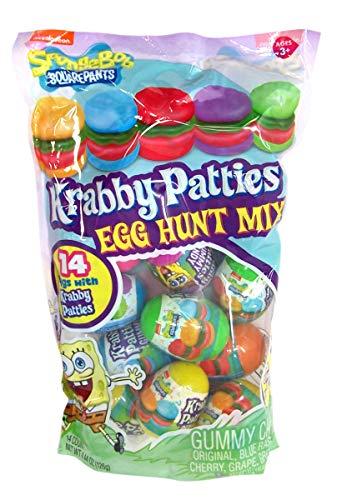 Spongebob Squarepants Gummy Krabby Patty Filled...