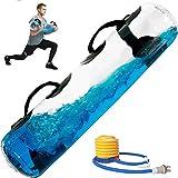 POIUYT Sandbag Alternative Aqua Bag 55 libbre Fitness Aqua Bag Core ed Equilibrio Borsa da 55 libbre Attrezzatura Portatile da Palestra Domestica per Allenamento a casa, Fitness, Allenamento Yoga