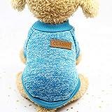 Suéter del Perro del Gato del Animal doméstico, Ropa Caliente del Gato de los Puentes del Perro,...