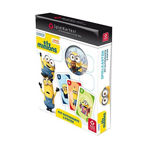 ASS Altenburger 22577503 - Minions SpielKarten! - Die Kartenspielesammlung