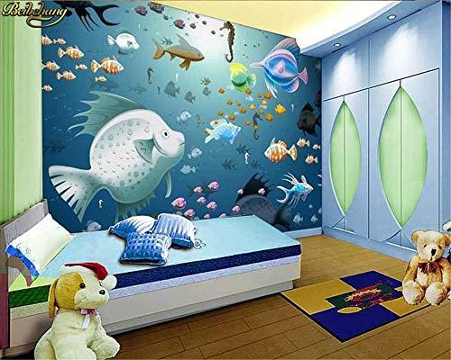 Fotos, Fondos de Pantalla Murales del Bosque en 3D del Arco Iris, murales de Dibujos Animados de dormitorios Infantiles, Fondos de Escritorio creativos para Habitaciones de niños 3