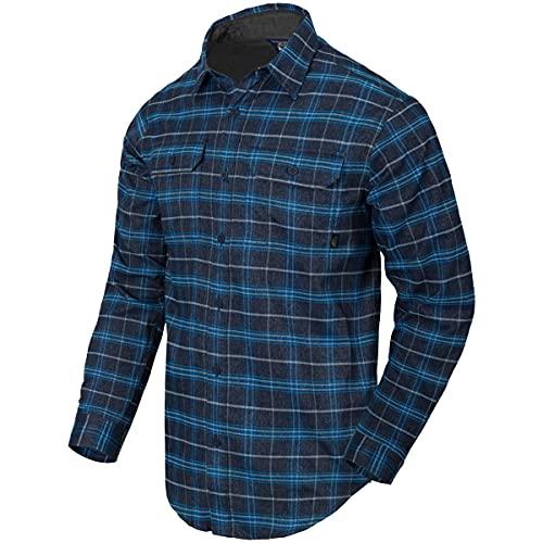 Helikon-Tex Homme GreyMan Chemise Blue Stonework Plaid Taille L