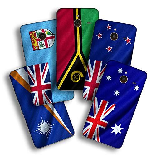 atFolix Designfolie kompatibel mit Microsoft Lumia 640 XL, wähle Dein Lieblings-Design aus, Skin Aufkleber (Flaggen aus Australien & Ozeanien)