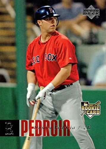 2006 Upper Deck Baseball #1027 Dustin Pedroia Rookie Card