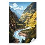 Postereck - 2746 - Pakistan, Himalaya Fluss Berge Natur