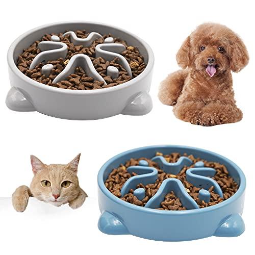 Vannon Slow Feeder Dog Bowls Anti-Choking Non...