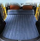 HKVML Coche Cama Inflable Flocado Tela Coche colchón Inflable Coche SUV Cama Coche Suministros, F2, 170x130x10cm