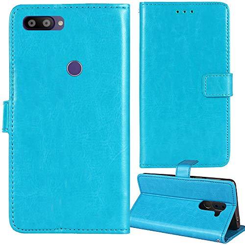 Lankashi Premium Retro Business Flip Book Stand Brieftasche Leder Tasche Schütz Hülle Handy Handy Hülle Für Gigaset GS195 / GS195LS 6.18