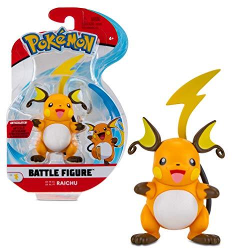 Pokémon Battle Figure Raichu 5 cm   Última Ola 2021   con Licencia Oficial de Pokemon