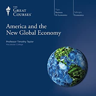 America and the New Global Economy audiobook cover art