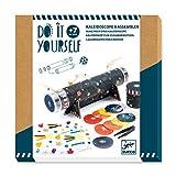 Djeco- DIY Caleidoscopio para Montar Inmersión Espacial Formas y Colores (DJ07922)