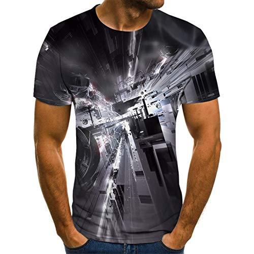 SSBZYES Camisetas para Hombres Camisetas De Manga Corta De Gran Tamaño para Hombres Camisas Casuales para Hombres Que Imprimen Camisetas De Manga Corta Creativas Abstractas De Manga Corta Camisetas