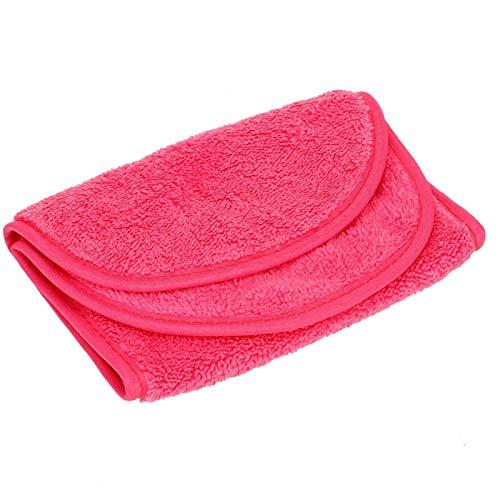 Toalla mágica desmaquillante, toallitas para el cuidado de la piel Fácil de usar Fibra de poliéster ecológica de alto grado que ahorra energía para uso diario para uso doméstico