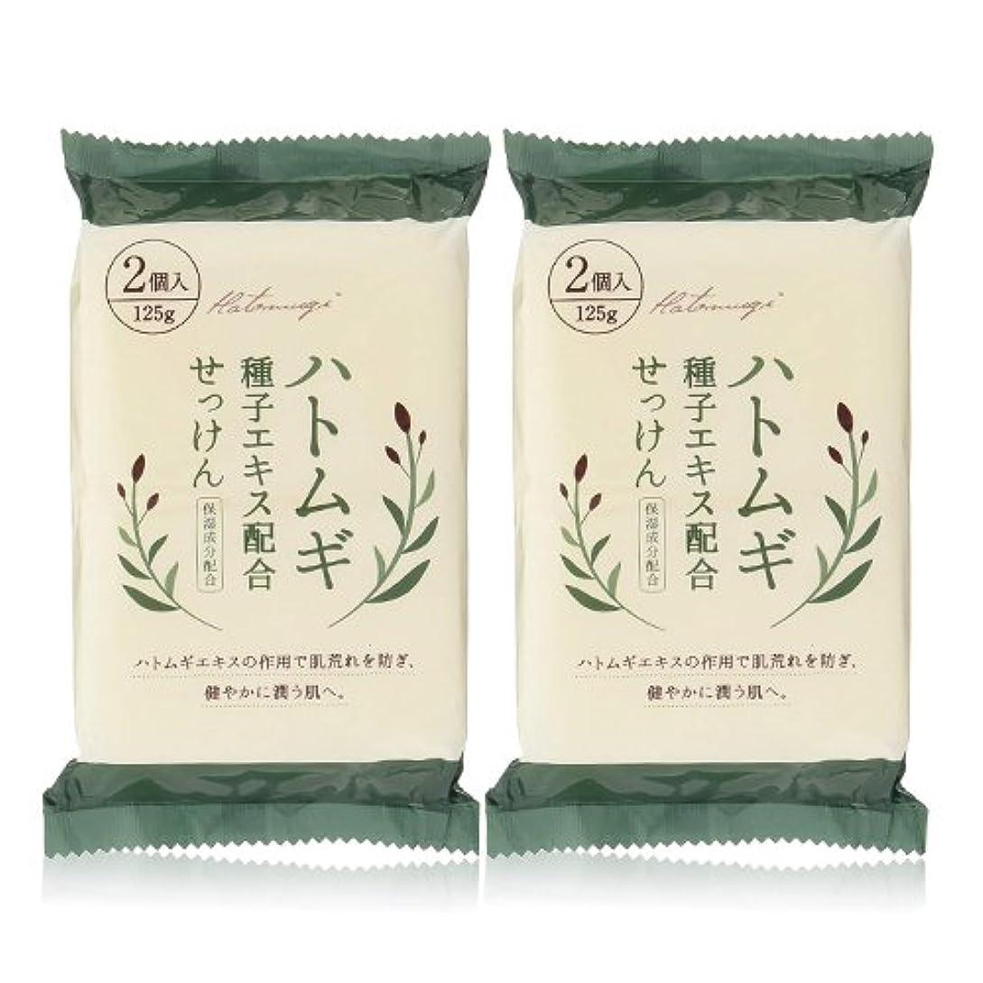 おとうさん剪断イヤホンハトムギ種子エキス配合石けん 125g(2コ入)×2個セット(計4個)