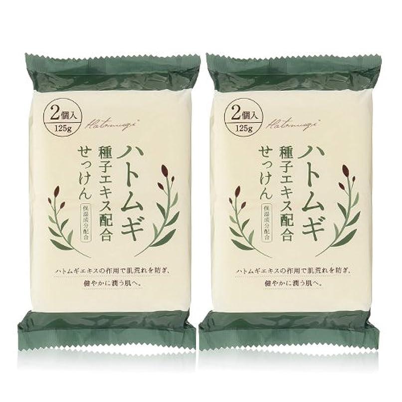 故意の十分溶岩ハトムギ種子エキス配合石けん 125g(2コ入)×2個セット(計4個)