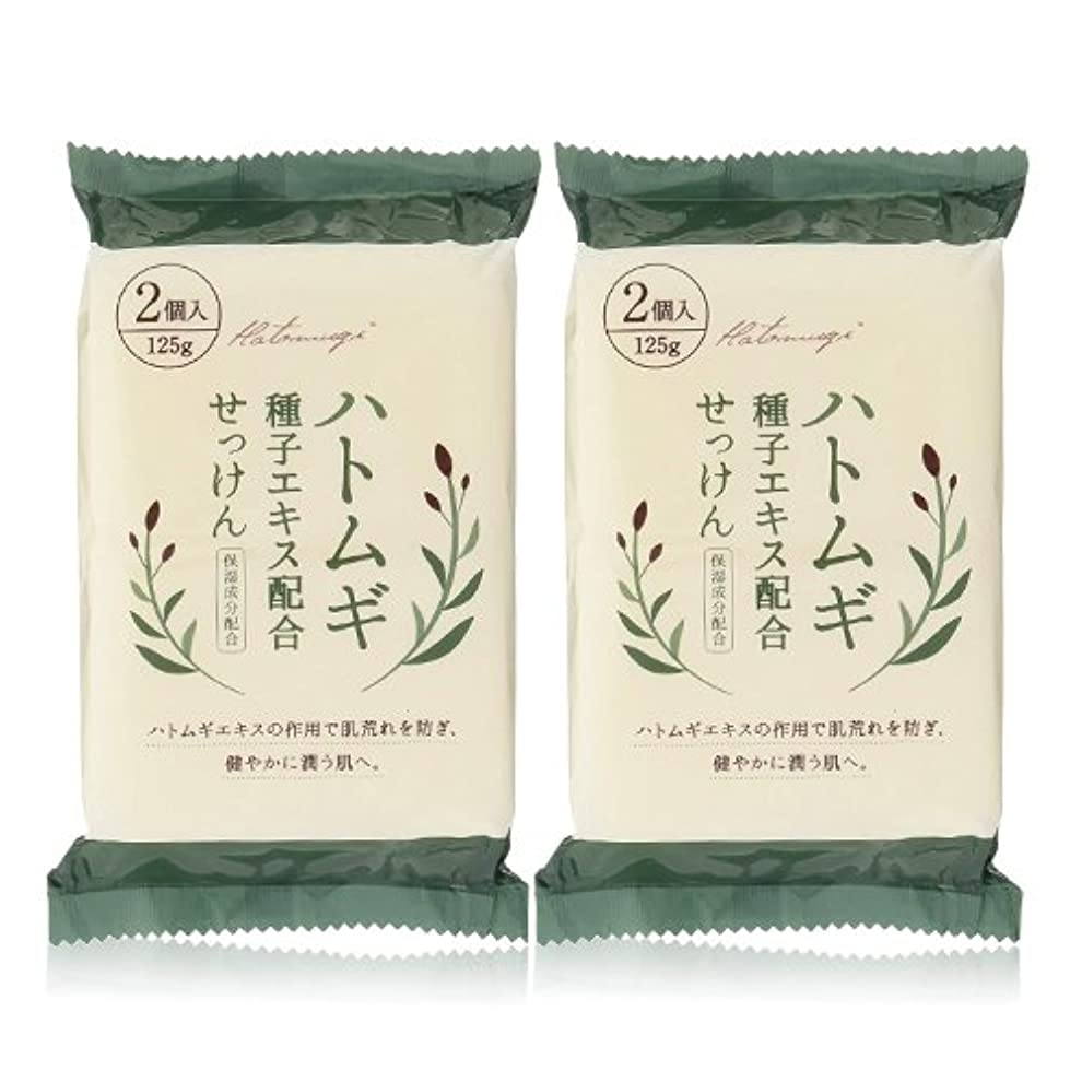 ブームセージフレキシブルハトムギ種子エキス配合石けん 125g(2コ入)×2個セット(計4個)