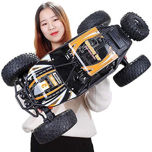 Poooc RC Auto 1/10 High Speed 4WD Rock Crawler 4x4 Fahren Auto Doppelmotoren Monster Big foot Auto 2,4 GHz All Terrain Super Große Buggy Race Boy Mädchen Geburtstag Spielzeug für Kinder Geschenk für