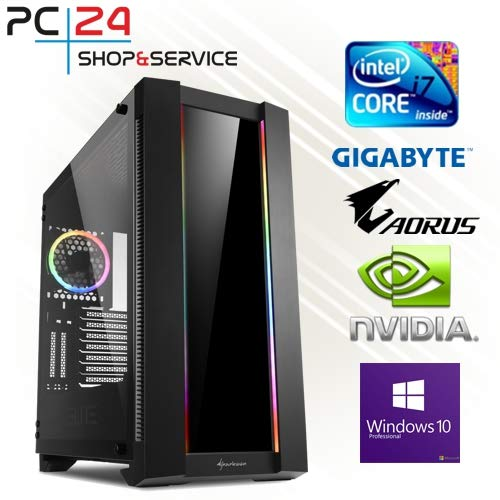 PC24 Gamer PC | Intel i9-9900K @8x4,50GHz | 500GB M.2 970 EVO SSD | nVidia GF RTX 2080 Super mit 8GB RAM | 16GB DDR4 PC2666 RAM G.Skill | Gigabyte Z390 Aorus Pro | Windows 10 Pro | Gaming PC