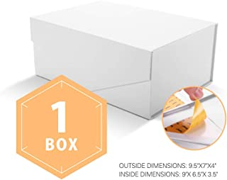 Best white rectangle gift box Reviews