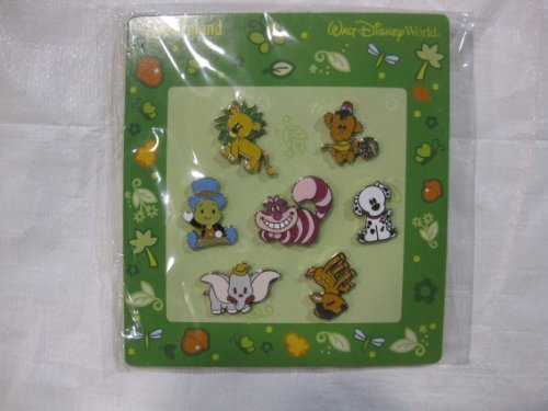7 Piece Disney Pin Starter Set Baby Animals 2010 by Disney